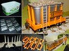"Wagons from ""Flora"" tubs - 16mm scale"
