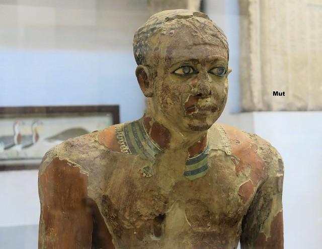 Statue des Mitri/Ägyptisches Museum Kairo