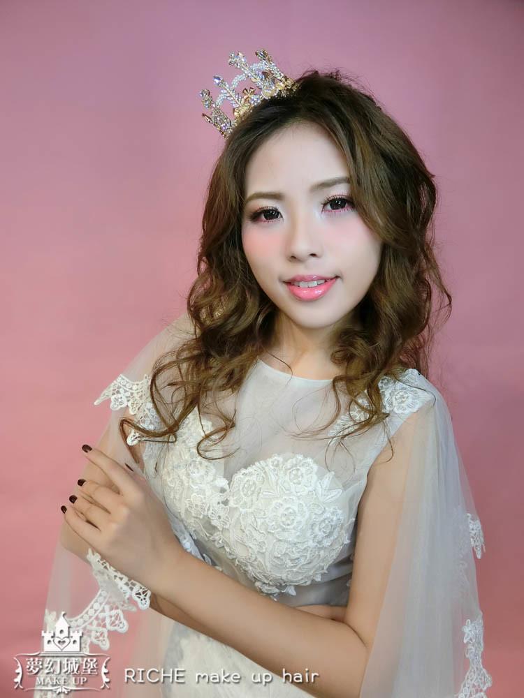 【新秘RICHE】新娘造型創作 / 浪漫公主