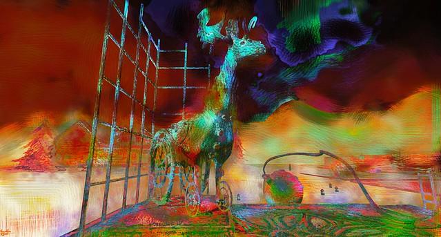 reindeer / Artist : Cica Ghost