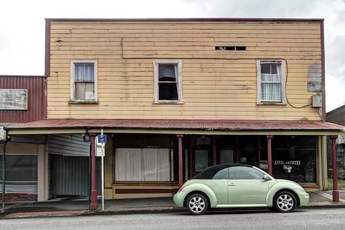 Old building (1) Main Street Etham, Taranaki, NZ