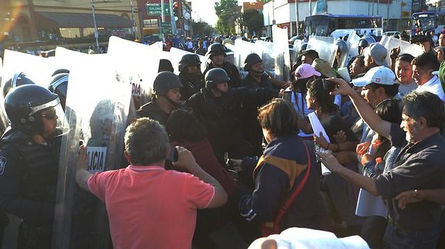 Movimentos sociais criticaram ação policial durante manifestações - Créditos: Agência Efe