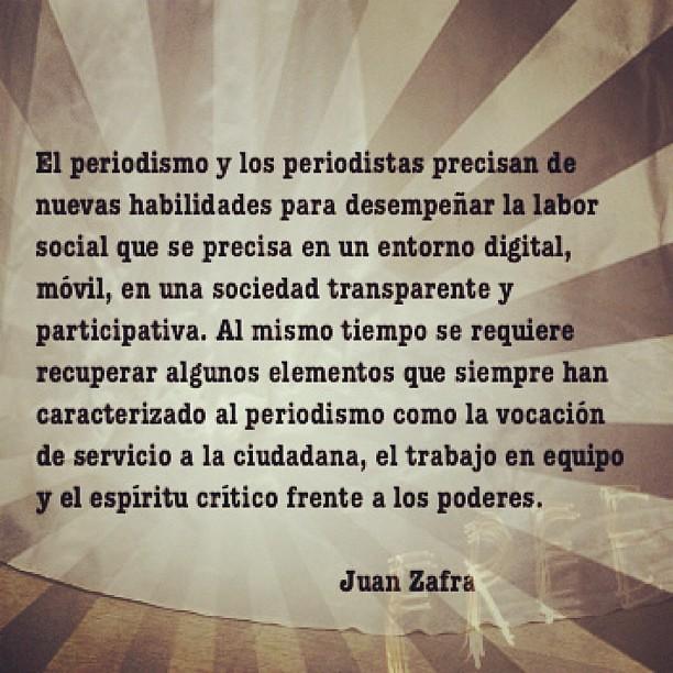 sobre el #periodismo en épocas de transparencia #cronistadesutiempo