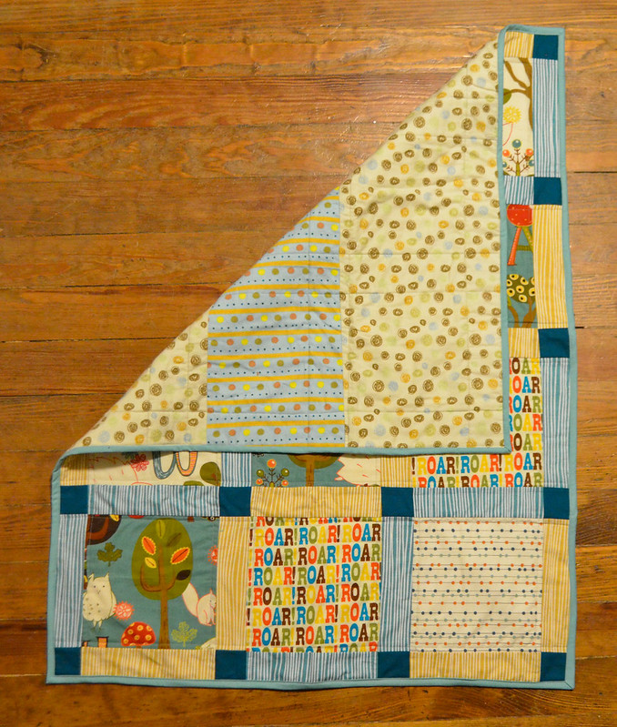 Baby Quilt - Forest Path