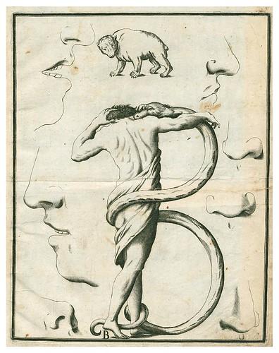 003-Letra B-Alfabeto in sogno-1720-Staatsbibliothek zu Berlin