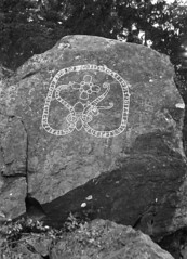 Runic inscription at Kiholm, Södermanland, Sweden