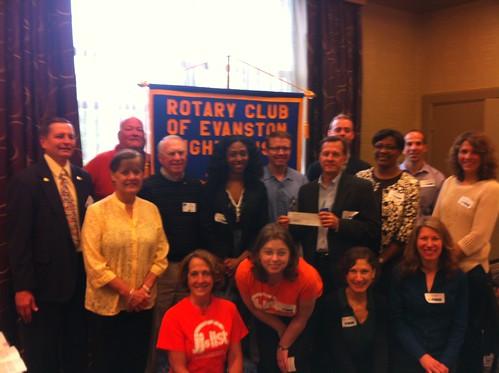 Evanston Lighthouse Rotary Club Community Grant Awards Ceremony 061813