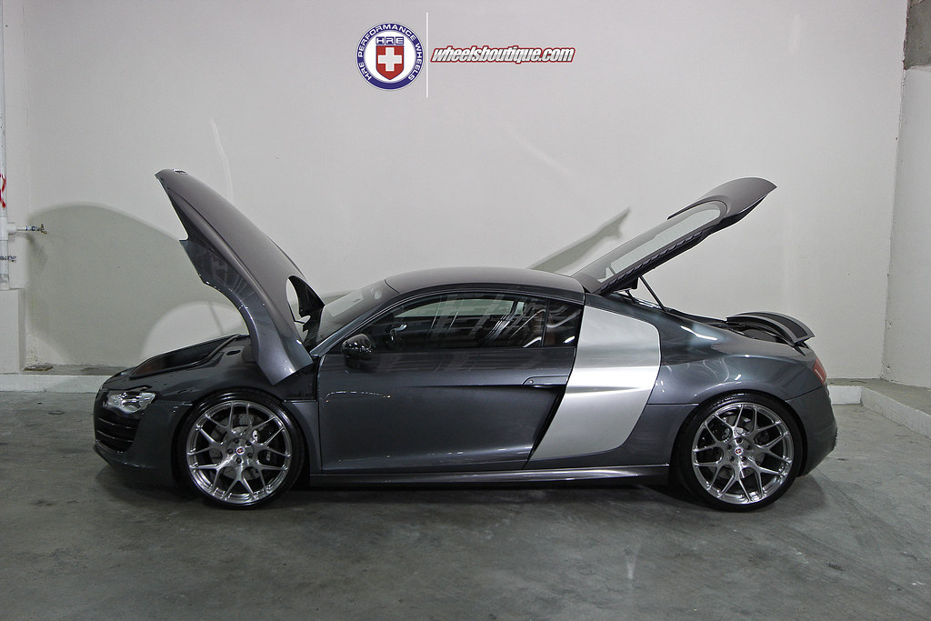 Audi R8 On Hre P40sc S Prepare Yourselves