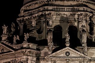 Madonna della Salute képe. venice night venezia notte madonnadellasalute
