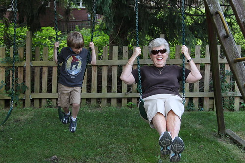 Great Grandma Swinging
