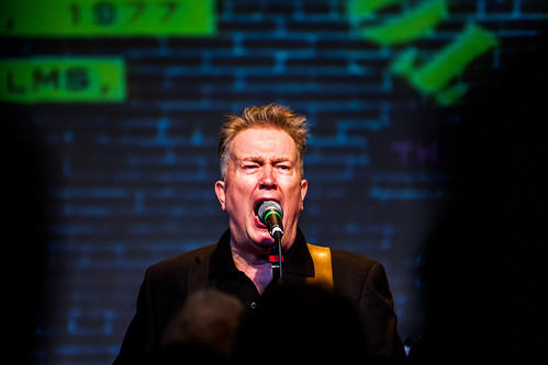 Tom Robinson and EMI/Parlophone celebrate 35 years since the release of Power In The Darkness. by sinister pictures