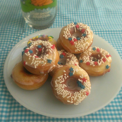 Yum yum #donuts #happyfourthofjuly