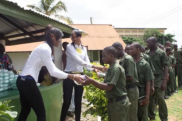 Lord Kenya, Miss Ghana and Lesedi Foundation inspire Borstal inmates