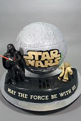 Star Wars Death Star Rehearsal Dinner/Groom's Cake.
