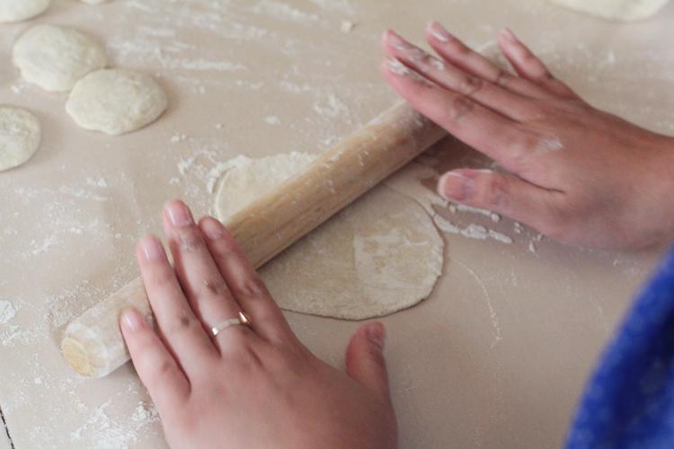 dumplings roll