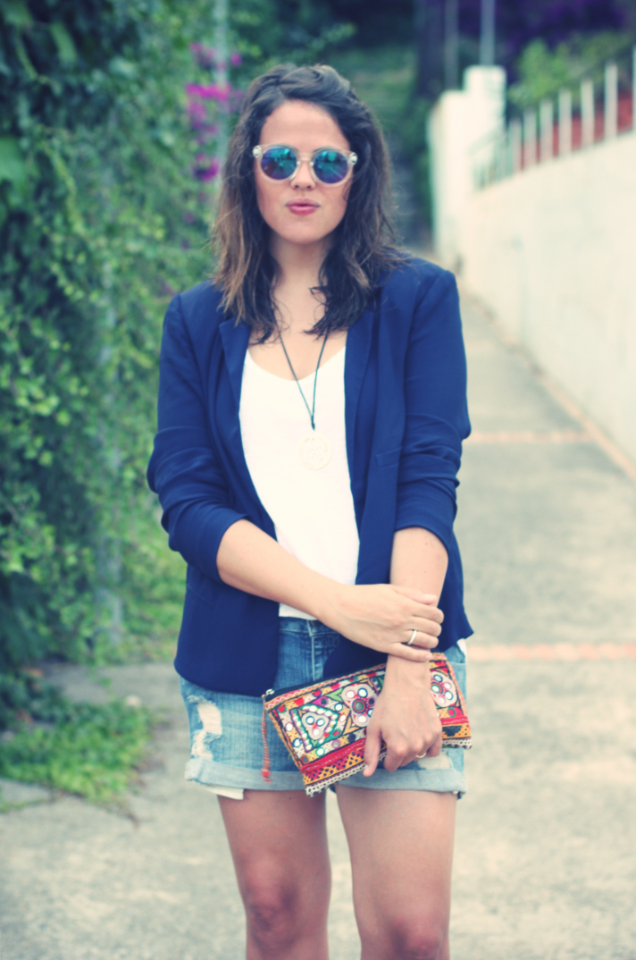 Look Shorts + Blazer - Monicositas