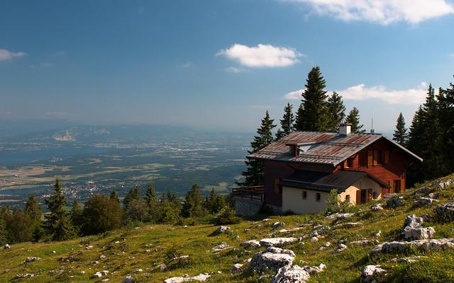 Switzerland -  Chalet de la Combe Gelée