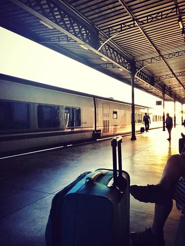 Tren a casa