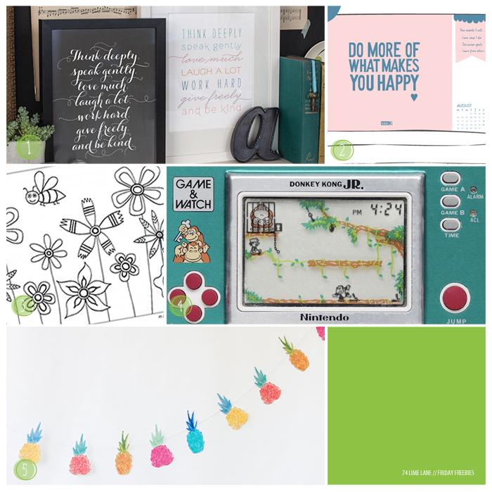 friday freebies // 31