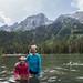 Small photo of Yuri and Lin (and Mariella) in String Lake
