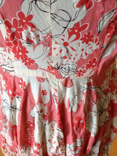 mystery dress waist seam