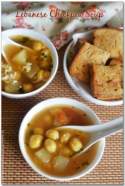 Lebanese Chickpea Soup Recipe
