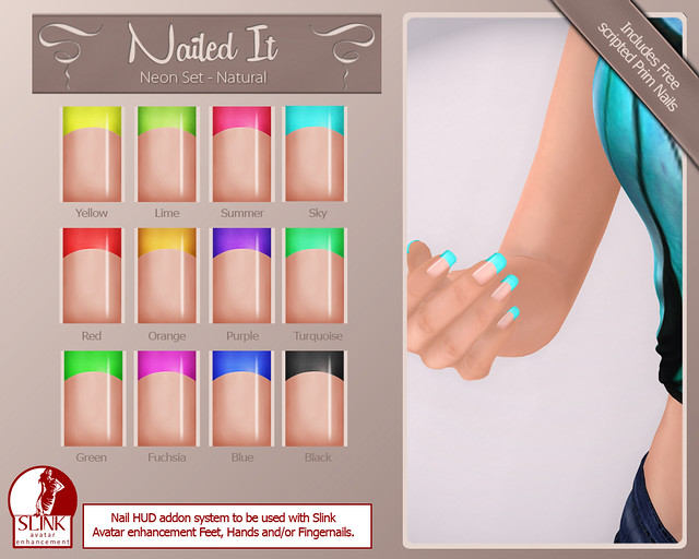 Nailed it Vendor - Neon Set - Natural