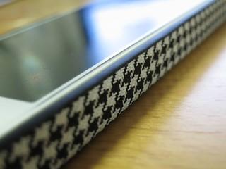 千鳥格子のiPhoneケース