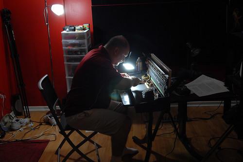 Me Fixing the Elka 490