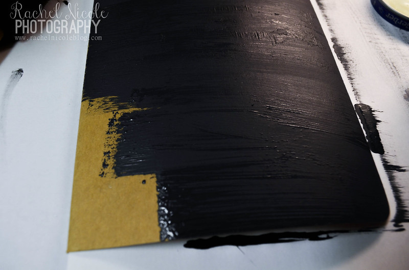 DIY Chalkboard Flag Notebook