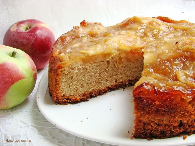 яблочно-медовый пирог 1