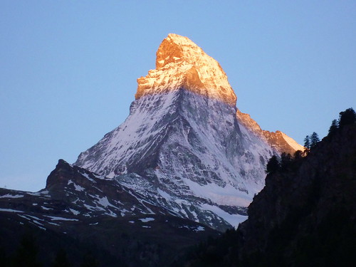 sunrise swiss matterhorn 瑞士 馬特洪峰 日出