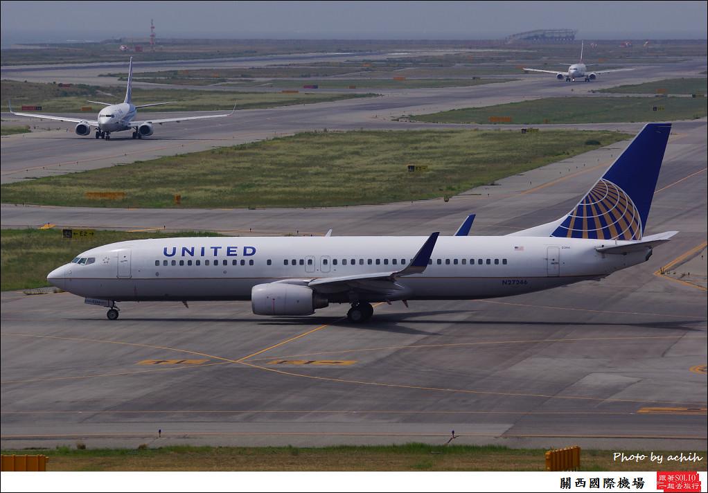 United Airlines N27246