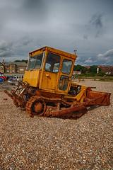 Aldeburgh Beach tractor