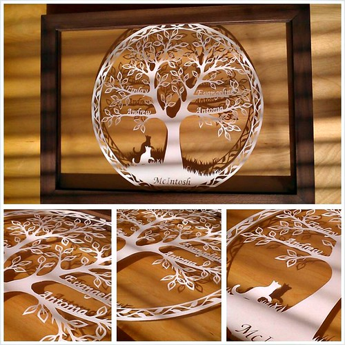 Family Tree Paper Cutting