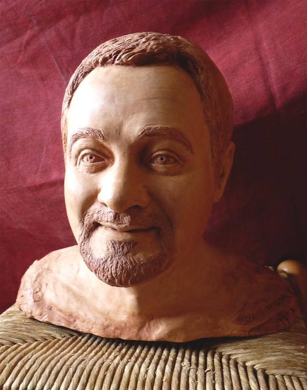 scultura marco ritratto