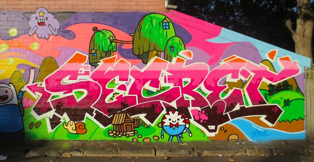 Secret KOS - Glebe, Sydney - 2013