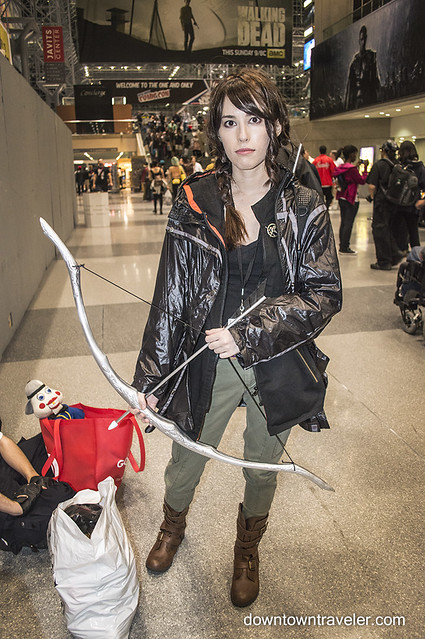NY Comic Con Womens Costume Katniss Hunger Games