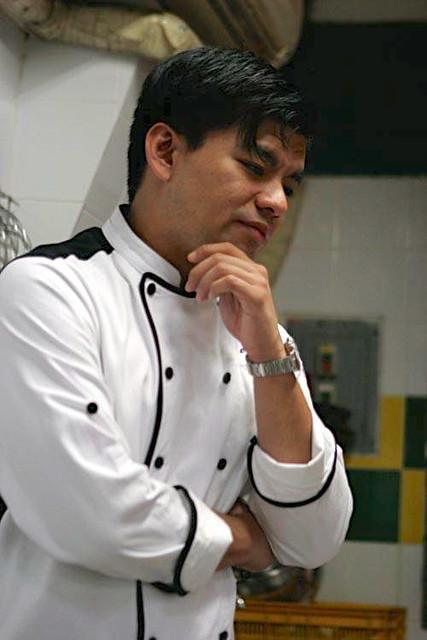 Chef Gino Gonzalez