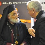 Aid to the Church in Need hold press conference with Patriarch Gregorios III