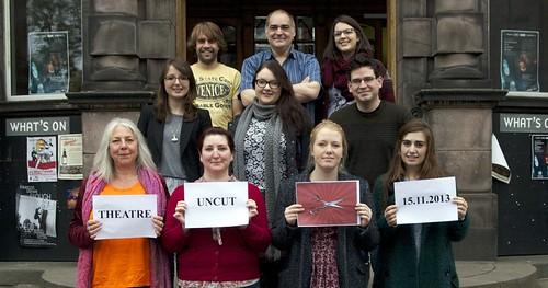 Edinburgh date for Theatre Uncut