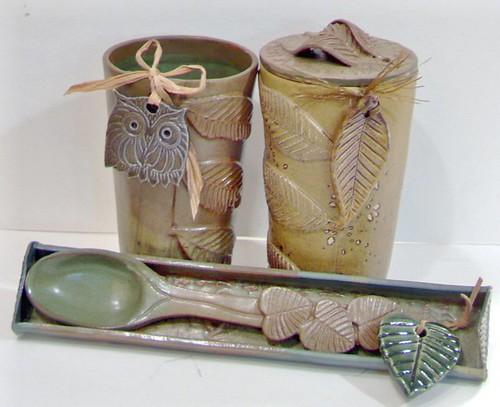 Botanical ceramics- Earth medecine Art Céramique