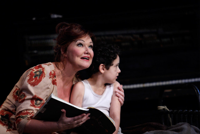 Karita Mattila as Marie and Sebastian Wright as the Child in Wozzeck © ROH / Catherine Ashmore 2013