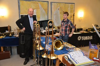Brassbandfestivalen 2012 - Östen Johannesson, Smålands Musikvaruhus och Jakob Sandberg