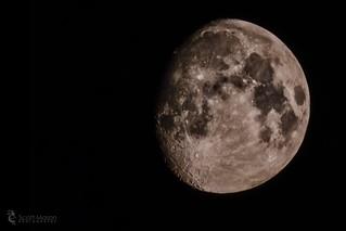 Moon, HDR