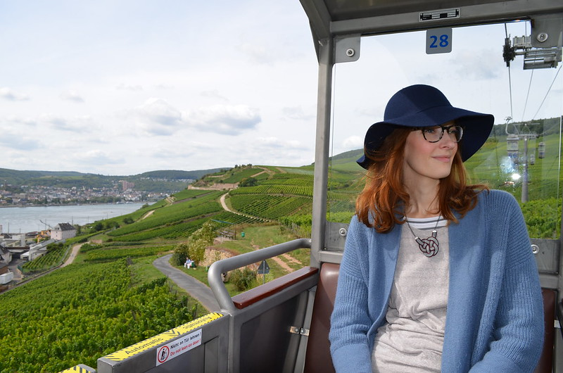 Rheingau Romantik Tour_Kate on Seilbahn