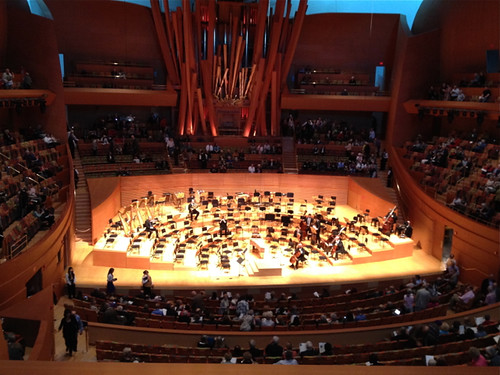 Gehry concert hall LA