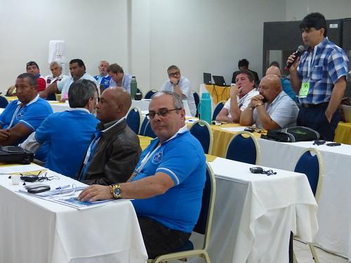 Delegados en reunión de Navegación Interior