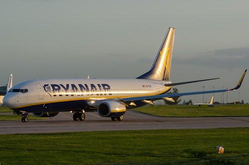 Boeing 737, EI-EVZ, Ryanair.