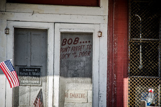 Bob Don't Forget to Lock the Door